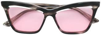 McQ Eyewear cutaway lens cat eye sunglasses