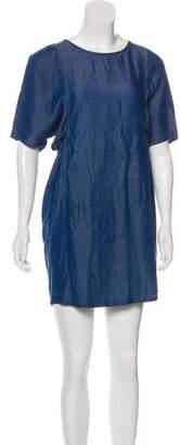 Acne Studios Mini Zip-Up Dress