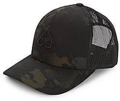 Moose Knuckles Men's Camo & Mesh Trucker Baseball Cap