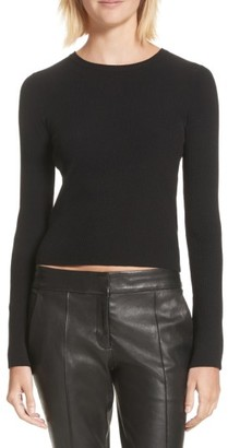 Women's A.l.c. Lewis Merino Wool Blend Sweater $295 thestylecure.com