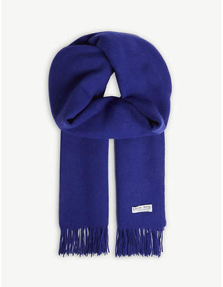 Claudie Pierlot Alaska solid virgin wool scarf