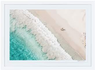 Gray Malin Grand Saline Beach St. Barths (Framed)