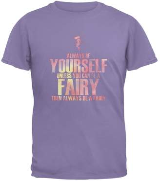 Old Glory Halloween Always Be Yourself Fairy Violet Youth T-Shirt
