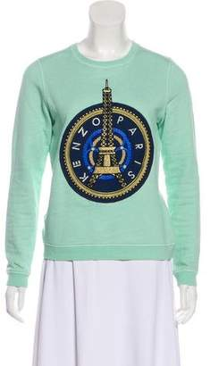 Kenzo Embroidered Crew Neck Sweatshirt