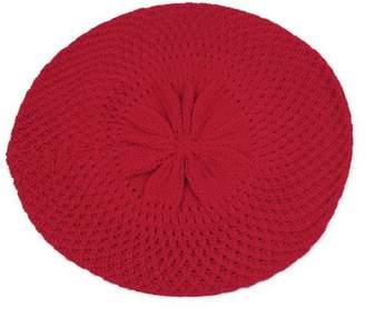 Pop Fashionwear Inc Pop Fashionwear- Womens Winter Knit Net Style Crochet Beret Beanie 140HB