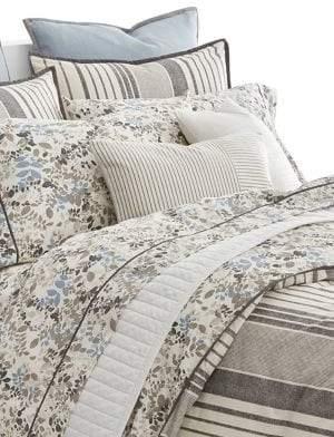 Lauren Ralph Lauren Devon Stripe 200 Thread Count Cotton Three-Piece Comforter Set