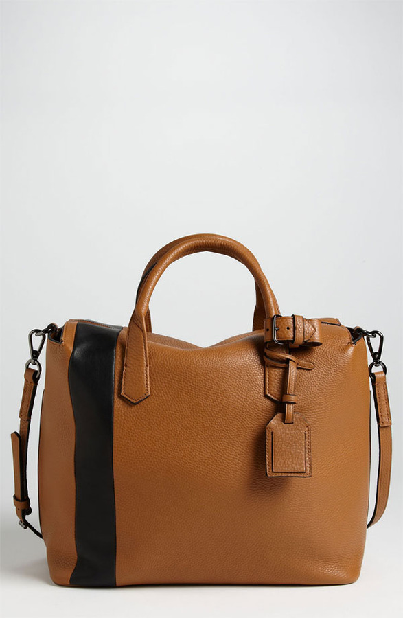 Reed Krakoff 'Gym Bag I' Leather Satchel