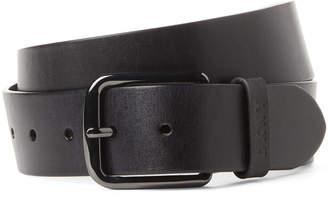 DKNY Black Leather Belt