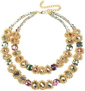 Eye Candy Los Angeles Acrylic Statement Necklace