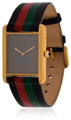 Cartier La Californienne multicoloured Ether Italia Tank leather watch