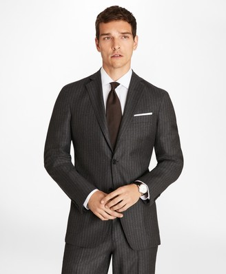 Brooks Brothers Regent Fit BrooksCloud Stripe 1818 Suit