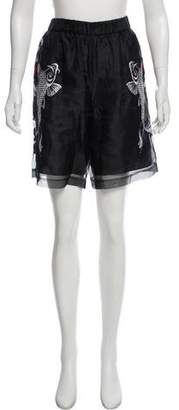 3.1 Phillip Lim Embroidered sheer shorts