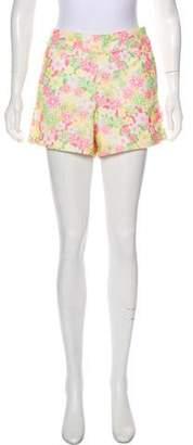 Lilly Pulitzer Mid-Rise Eyelet Shorts