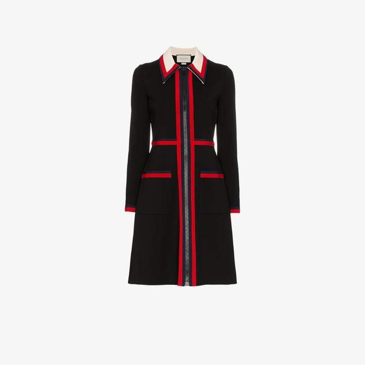 Zipped Jersey Dress