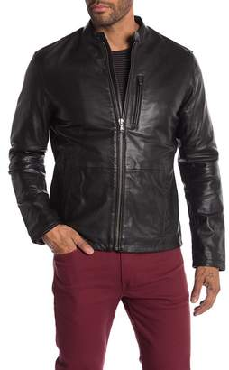 John Varvatos Leather Jacket
