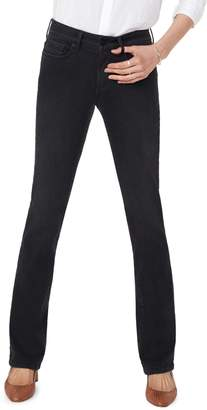 NYDJ Marilyn Muir Garden Pocket Straight-Fit Jeans