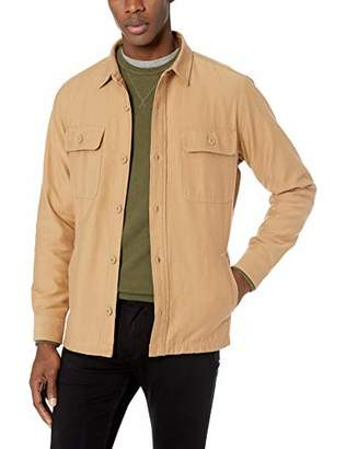 Goodthreads Men's Military Broken Twill Shirt Jacket