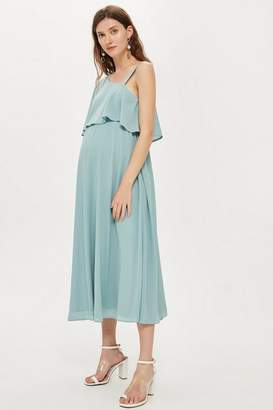 Topshop **Maternity Nursing One Shoulder Dress