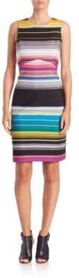 Missoni Striped Cutout Dress