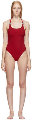 Alyx Red Susyn One-Piece Swimsuit