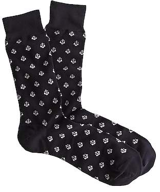 J.Crew Anchor socks