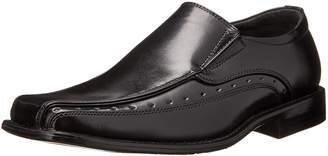 Stacy Adams Danton Bicycle Toe Slip-on Uniform Dress Shoe With Elastic Double Side Gore (Little Kid/Big Kid)