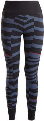 adidas by Stella McCartney Training Miracle zebra-print performance leggings