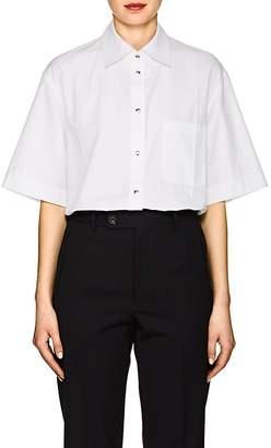 Helmut Lang Women's Cotton Poplin Blouse