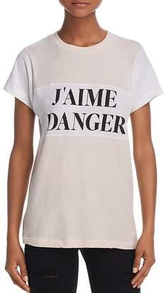 Wildfox Couture J'aime Danger Tee