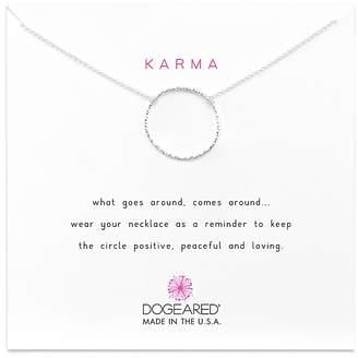 """Dogeared Medium Sparkle Karma Necklace, 18"""""""