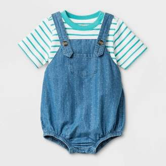 Cat & Jack Baby Boys' Top and Bottom Set Blue