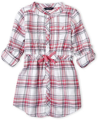 Nautica Toddler Girls) Plaid Shirtdress