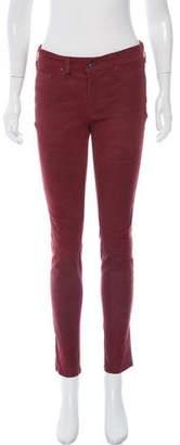 Rag & Bone High-Rise Skinny Leg Pants