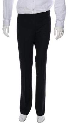 Brunello Cucinelli Wool Flat Front Dress Pants