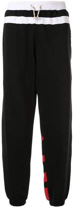 Marni contrast panels track trousers