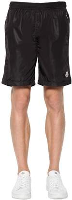 Moncler Logo Nylon Swim Shorts