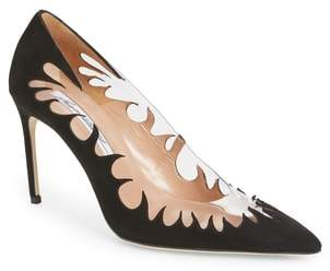 Brian Atwood Victory Cutout Pointy Toe Pump