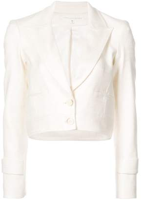 Veronica Beard cropped buttoned up jacket