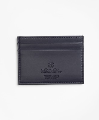 Brooks Brothers 200th Anniversary Special-Edition Leather Card Case