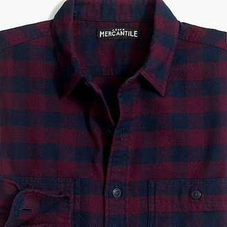 J.Crew Mercantile Slim-fit flannel shirt in buffalo check