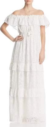 Catherine Malandrino Virginie Off-the-Shoulder Maxi Dress