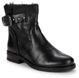 Recall Faux Fur Lined Moto Boots