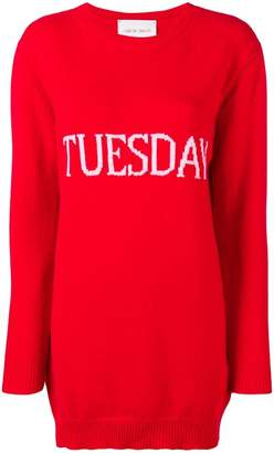 Alberta Ferretti Tuesday sweater dress