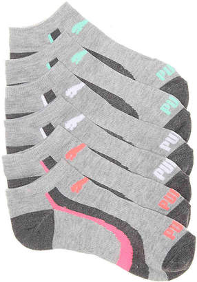 Puma Low Cut No Show Socks - 6 Pack - Women's