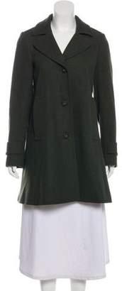Theory Virgin Wool Short Coat
