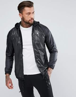 Luke 1977 Capability French Zip Through Netting Jacket in Black