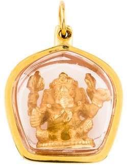 Ganesh 16K Pendant
