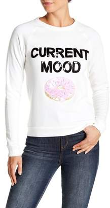 Bow & Drape Currnt Mood Sweatshirt