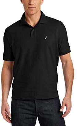 Nautica Men's Big Tall Short Sleeve Solid Deck Polo Shirt