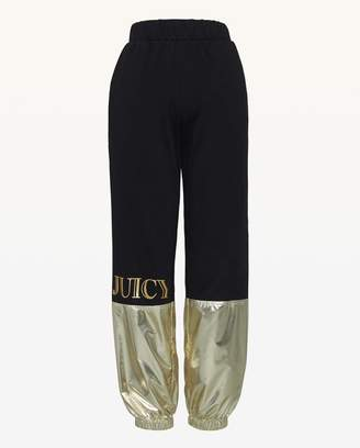 Juicy Couture JXJC Juicy Metallic Colorblock Pant
